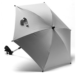 Image of Titanium Baby Stroller Parasol Silver One Size (954622)