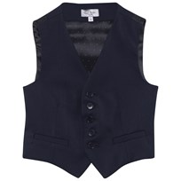 Paul Smith Junior Navy Cool Wool Waistcoat 49