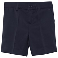 Paul Smith Junior Navy Cool Wool Suit Short 49
