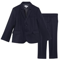 Paul Smith Junior Navy Cool Wool Suit 49