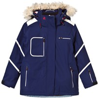 Perfect Moment Navy Qanuk Pro III Ski Jacket Blue