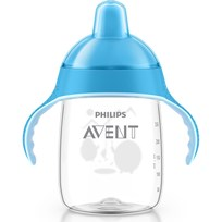 Philips Avent Sip No Drip Cup Blå Blue