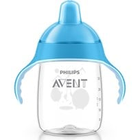 Philips Avent Sip No Drip Cup Blå Sand