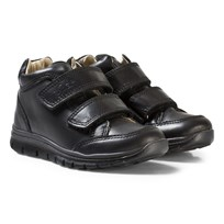 Primigi Black Velcro School Shoes NERO/NERO
