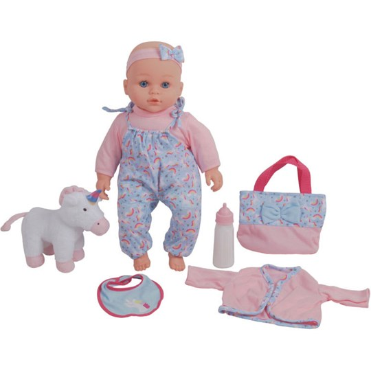 Best Time Toys Dolls, Doll with accessories, 40 cm Multi