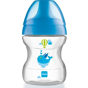 Image of MAM Learn to Drink Cup Blue 190 ml (3125327165)