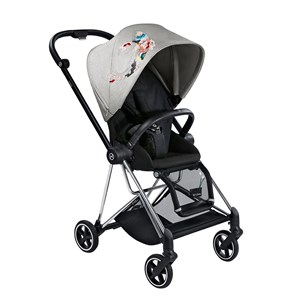 Image of Cybex Mios 3-in-1 Black Koi Mid Grey (3056057431)