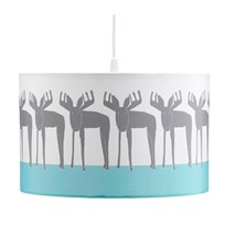 Kids Concept Ceiling Lamp Shade Edvin Moose White