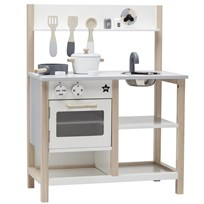 Kids Concept Kitchen Natural/White Natural/White