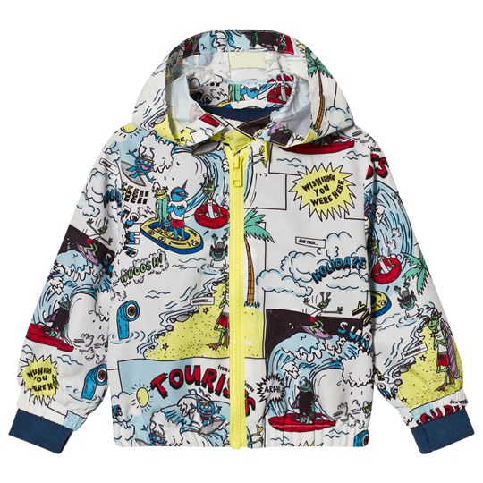 Stella McCartney Kids Multi Colour Tourist Print Scout Windbreaker 9085