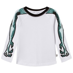 Image of Stella McCartney Kids Arms Print Max Tee White 2 years (2866167497)