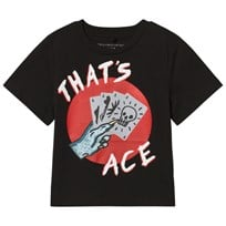 Stella McCartney Kids Black That´s Ace Arrow Tee 1073