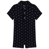 Ralph Lauren Navy Anchor Print Shortall Hunter Navy