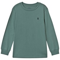 Ralph Lauren Green Long Sleeve Tee with PP Hampton Green