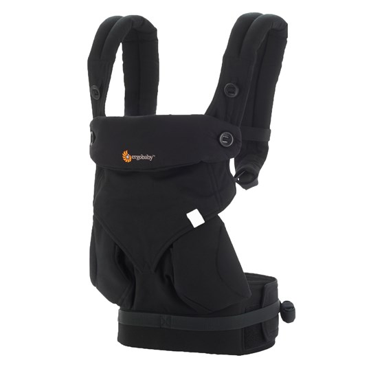 Ergobaby Four Position 360 Baby Carrier Black Black