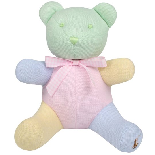 Ralph Lauren Colorblocked Bear Pink Multi Multi