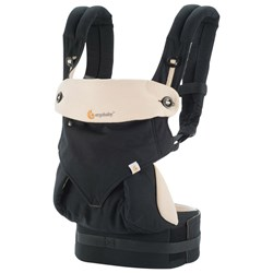 Ergobaby Four Position 360 Baby Carrier Black/Camel