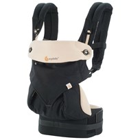 Ergobaby Four Position 360 Baby Carrier Black/Camel Black