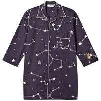 Gardner and the gang The Night Shirt INS Long Black Black
