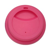 Rice Silicone Lid Latte Cups Fuchsi Pink