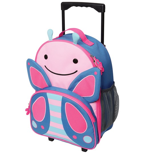 Skip Hop Zoo Kid's Rolling Luggage Butterfly Fjäril
