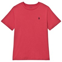 Ralph Lauren Red Short Sleeve Tee with PP Adirondack Berry