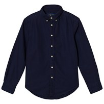 Ralph Lauren Navy Garment Dyed Oxford Shirt Navy