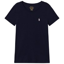 Ralph Lauren Navy Short Sleeve Tee with PP Navy