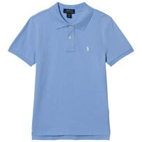 Ralph Lauren Austin Blue Short Sleeve Polo with PP AUSTIN BLUE