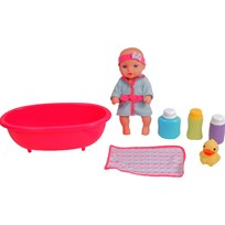 STOY Dolls, Doll with bath tube, 25 cm Multi