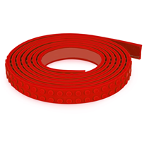 Mayka Mayka Block Tape, Small, 1 m, Red Red