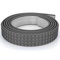 Mayka Mayka Block Tape, Large, 2 m, Grey Black