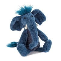 Jellycat Snagglebaggle Alfred Elephant Blue