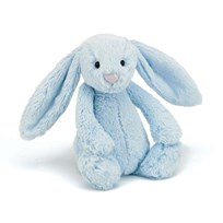 Jellycat Bashful Blue Bunny Medium Blå