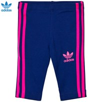 adidas Originals Infants Leggings Marinblå MYSTERY INK F17/SOLAR PINK