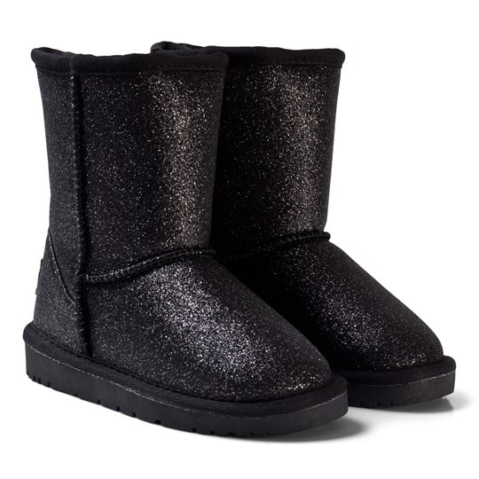 Petit by Sofie Schnoor Low Quilt Boots Antic Silver Glitter Silver