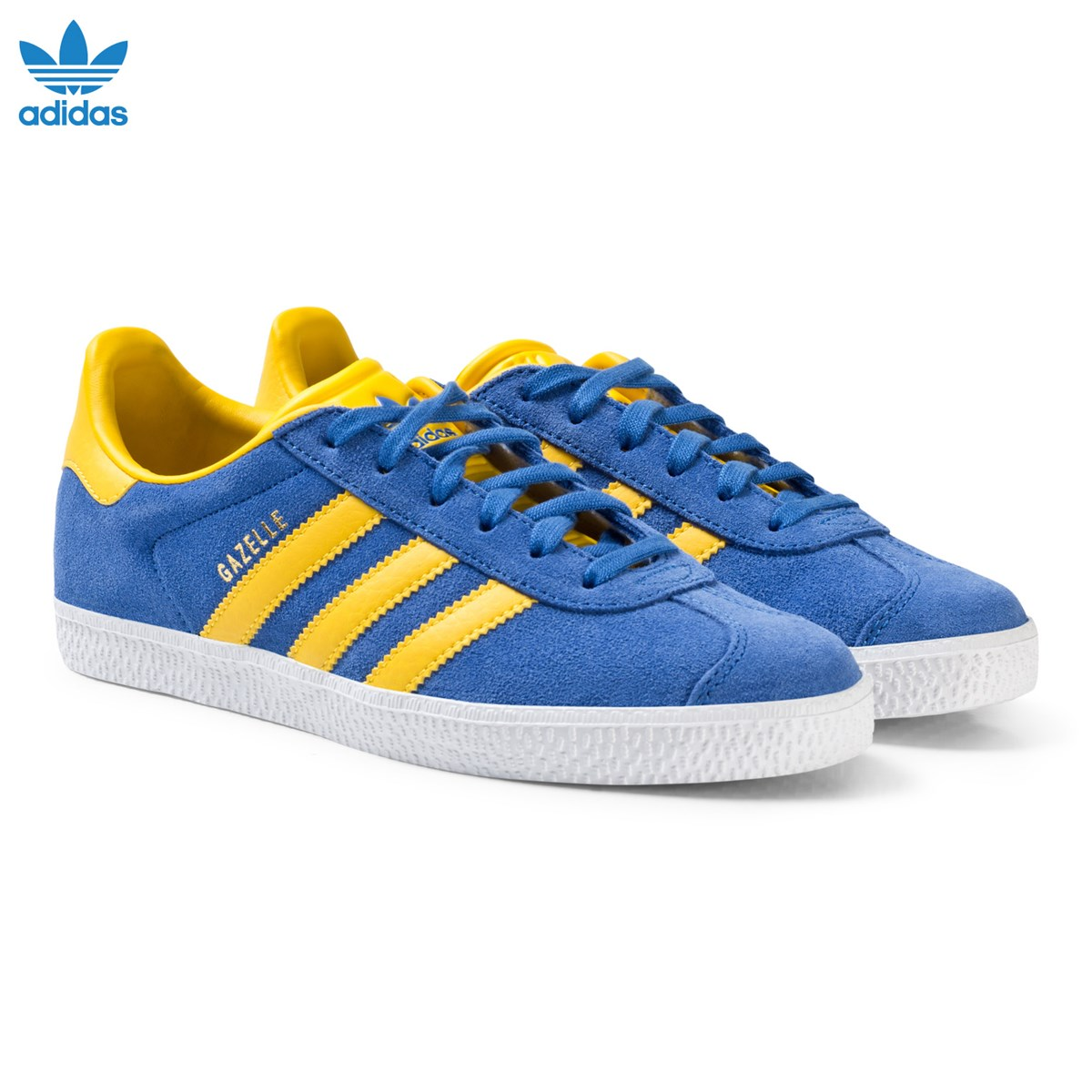 Blue and Yellow Junior Gazelle Trainers