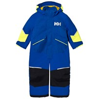 Helly Hansen Blue Kids Snowfall Ins Ski Suit 563 Olympian Blue