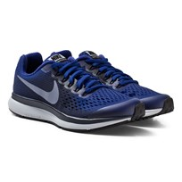 NIKE Blue Nike Zoom Pegasus 34 Junior Trainers DEEP ROYAL BLUE/DARK SKY BLUE