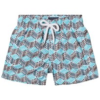 Vilebrequin Blue Mini Fish Print Swim Shorts 301