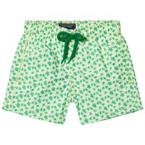Vilebrequin Mint Green Mini Turtle Print Swim Shorts 408