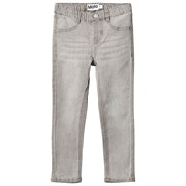 Molo Aida Woven pants Grey washed denim Grey washed denim