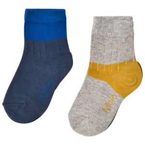 Image of Molo Nord Socks Lapis Blue 17-19 (6-9 mdr) (1021879)