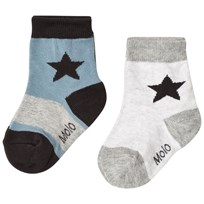 Molo Nitis Socks Light Grey Melange Light Grey Melange