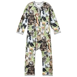 Molo Fleming One-Piece Jersey Hairy Animals