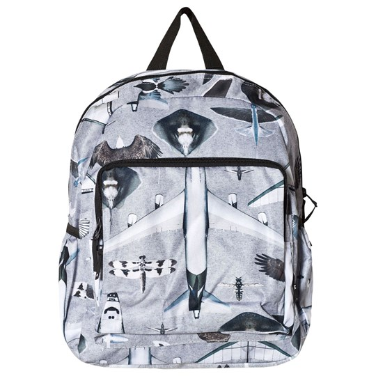 Molo Big Backpack Planes and Birds Planes and Birds