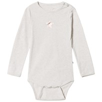 Molo Foss Baby Body Ljusgrå Melange Light Grey Melange