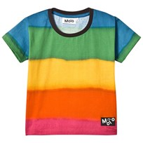 Molo Runi T-shirt Sprayed Stripe Sprayed stripe