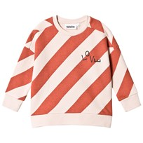 Molo Mandy Sweatshirt Diagonal Stripe Diagonal Stripe