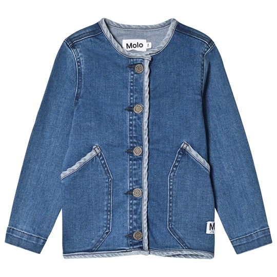 Molo Hannie Jacket Collage Denim Collage Denim